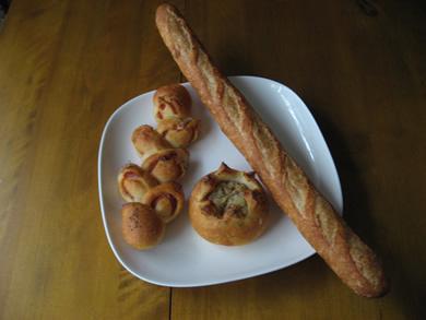 CANNONのフランスパンは絶品♪