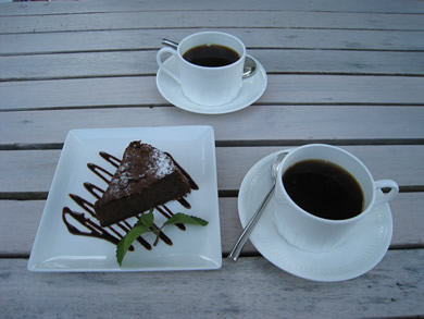 ガトーショコラとコーヒー☆