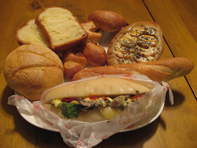 グルマンのパンは種類が豊富でどれも美味しい♪