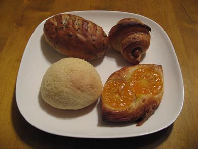 パンは水がいいからでしょうか、どれもおいしいです☆